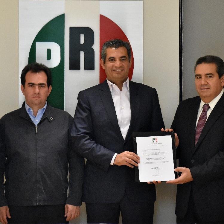 Designa Enrique Ochoa nuevos Delegados del CEN del PRI en los estados de Veracruz y Coahuila